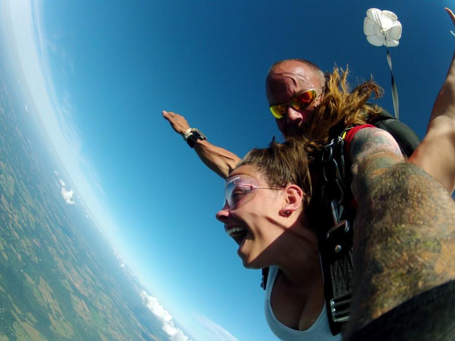 skydiving in va