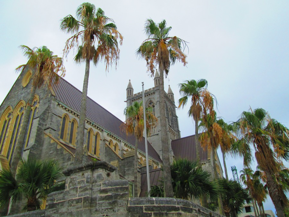 a church in Bermuda