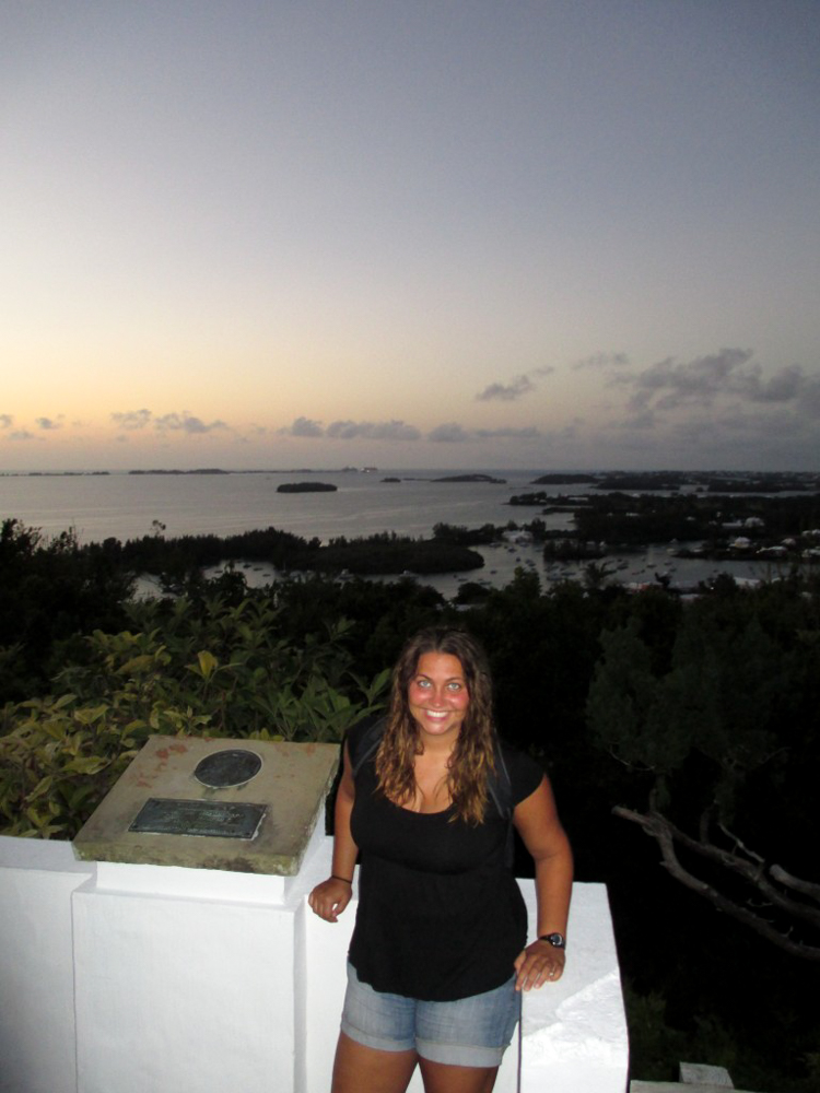Lighthouse view in Bermuda