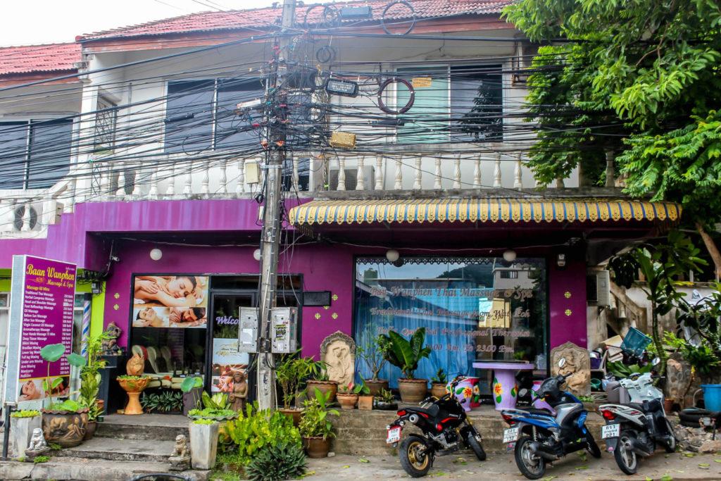 Massage studio in Thailand