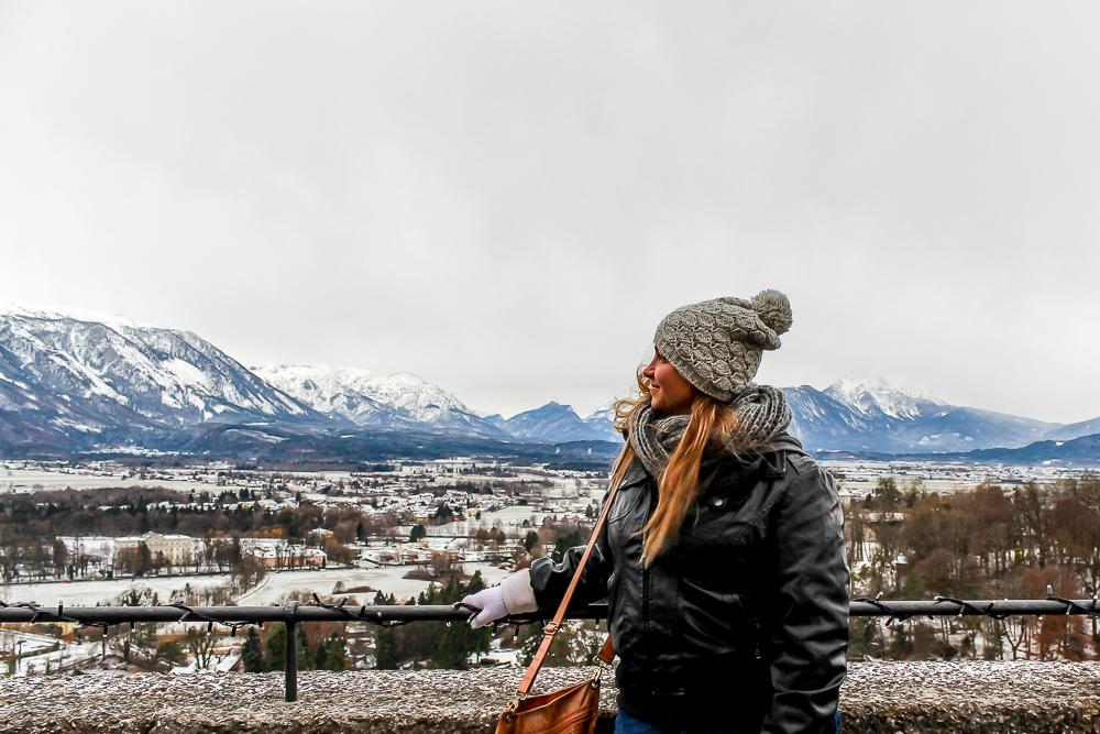 Girl in Saltzberg, Austria