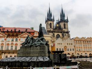 City center of Prague