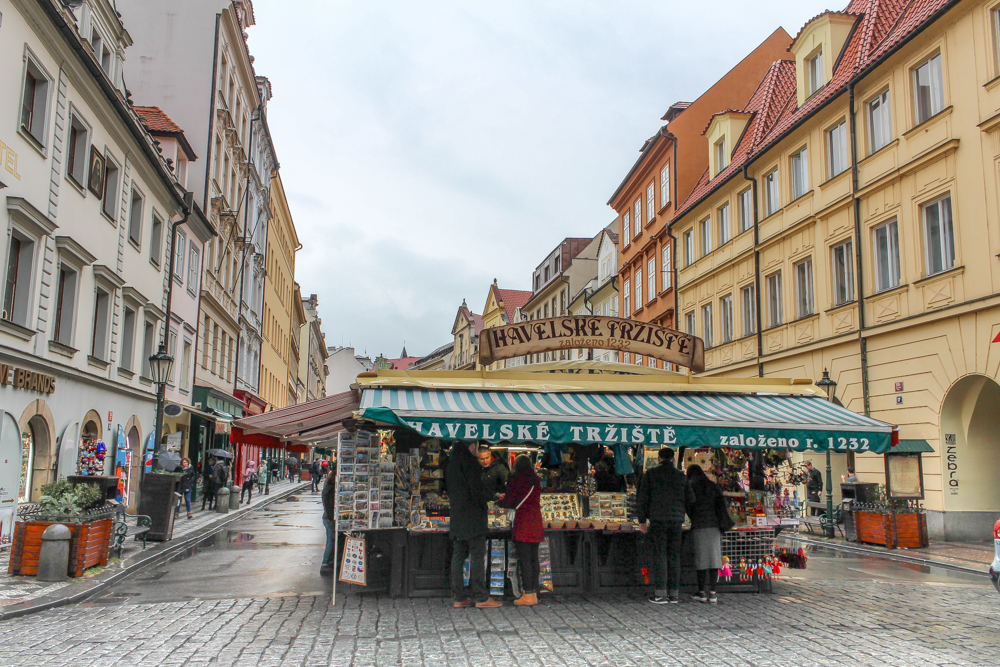 Havelský Market in Prague