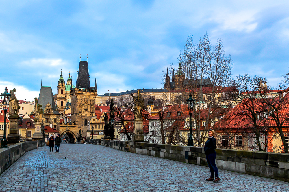 Girl in Prague