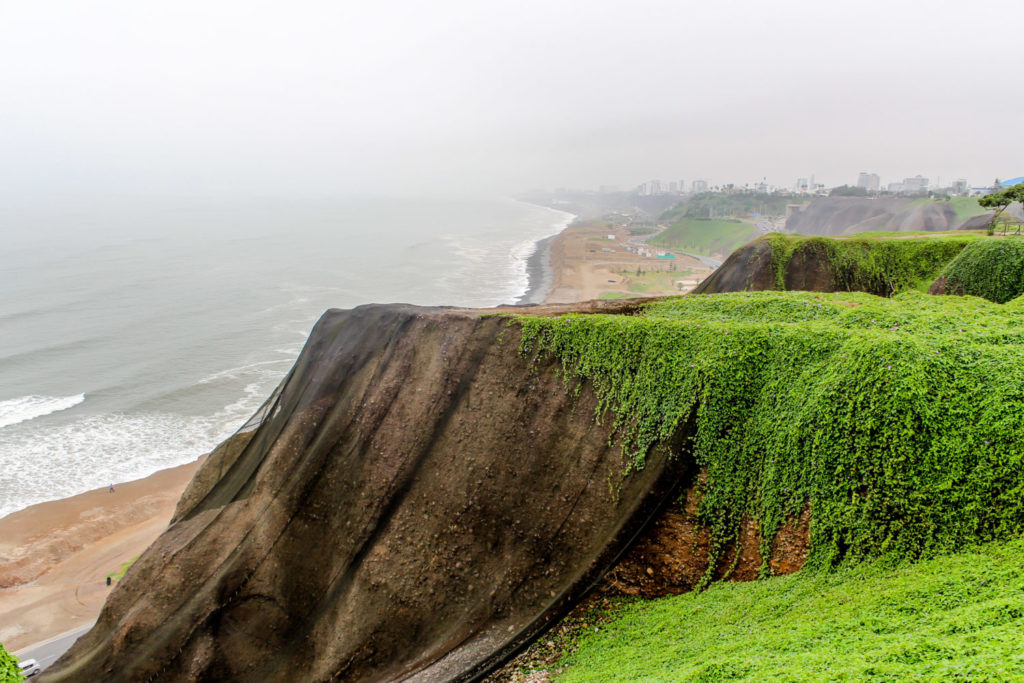Barranco Playa in Lima Peru