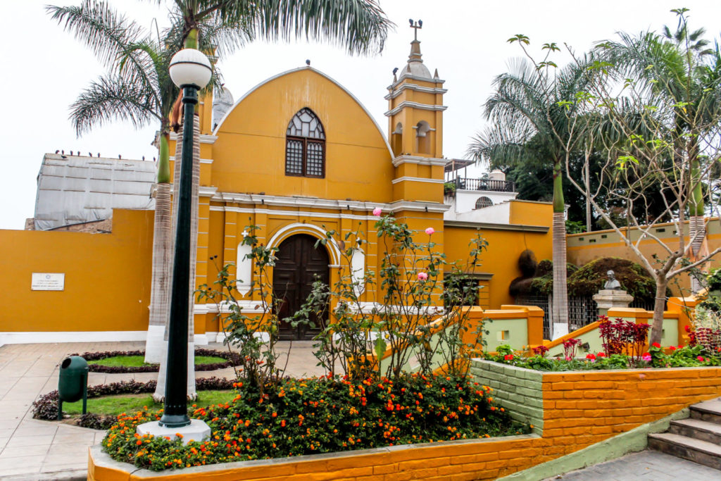 Building in Barranco