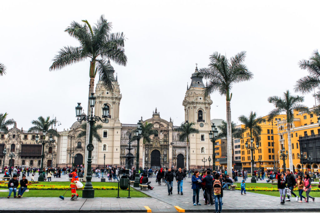 The Old City Lima Peru