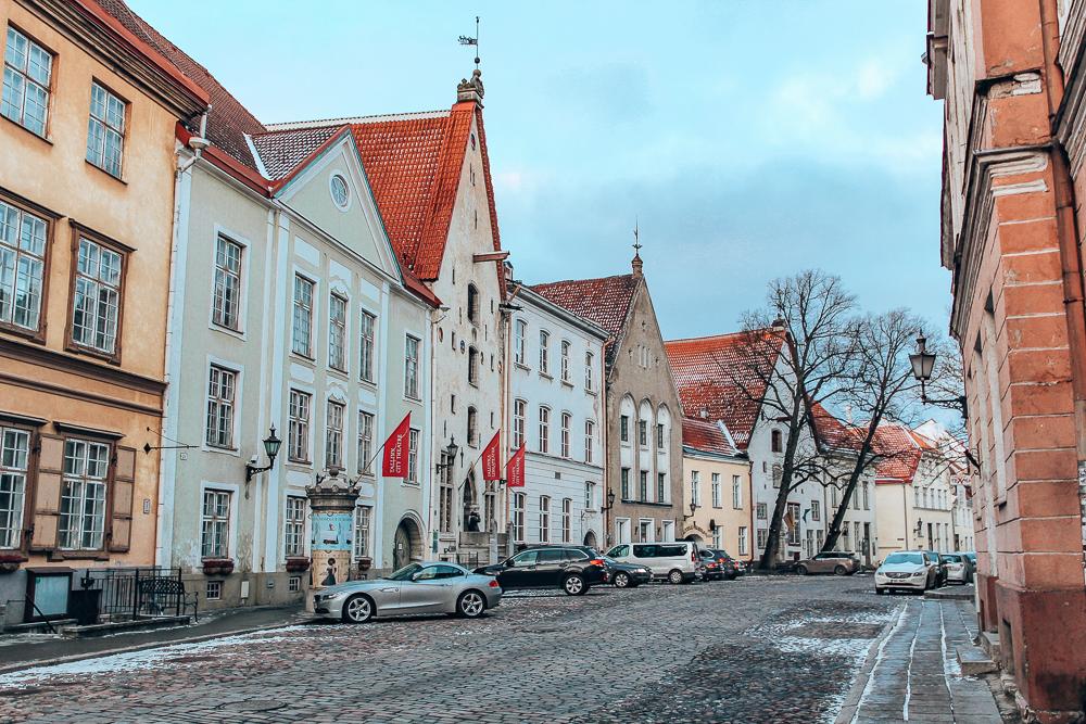Side street in Tallinn
