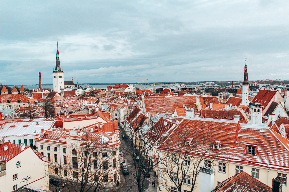 Tallin, Estonia from the viewpoint
