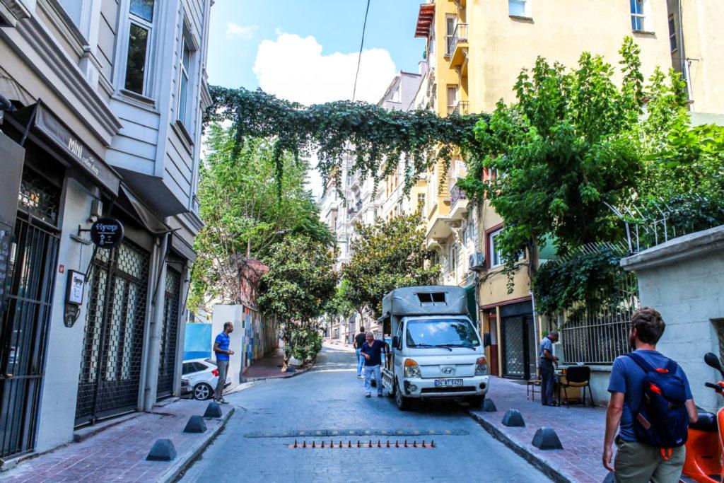 Side Street in Istanbul