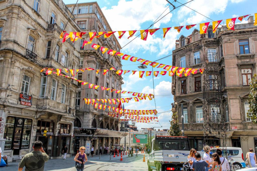İstiklal Caddesi street in Istanbul