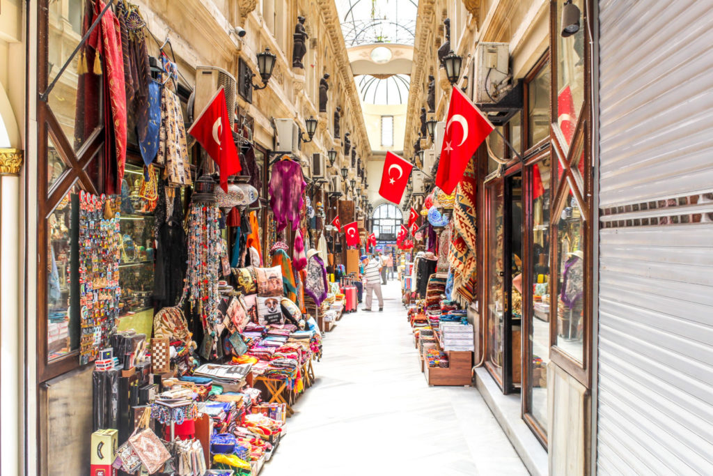 Shopping Hall in Istanbul