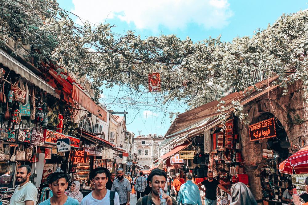 People walking in Istanbul