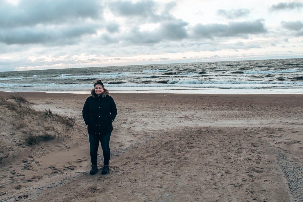 Beach in Latvia