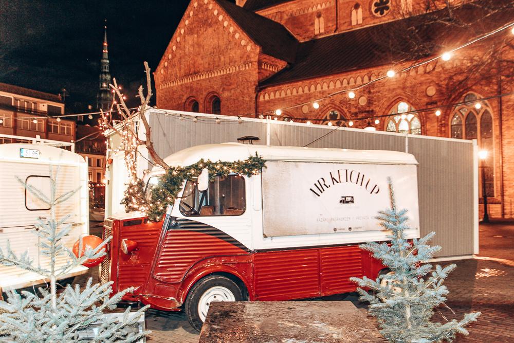 Christmas market in Riga
