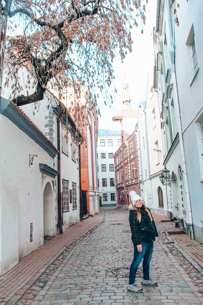 Side street in Riga