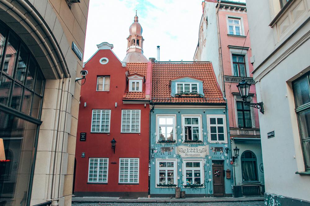 1221 restaurant in Riga