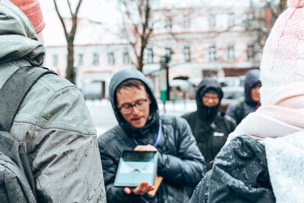 Free walking tour in Vilnius