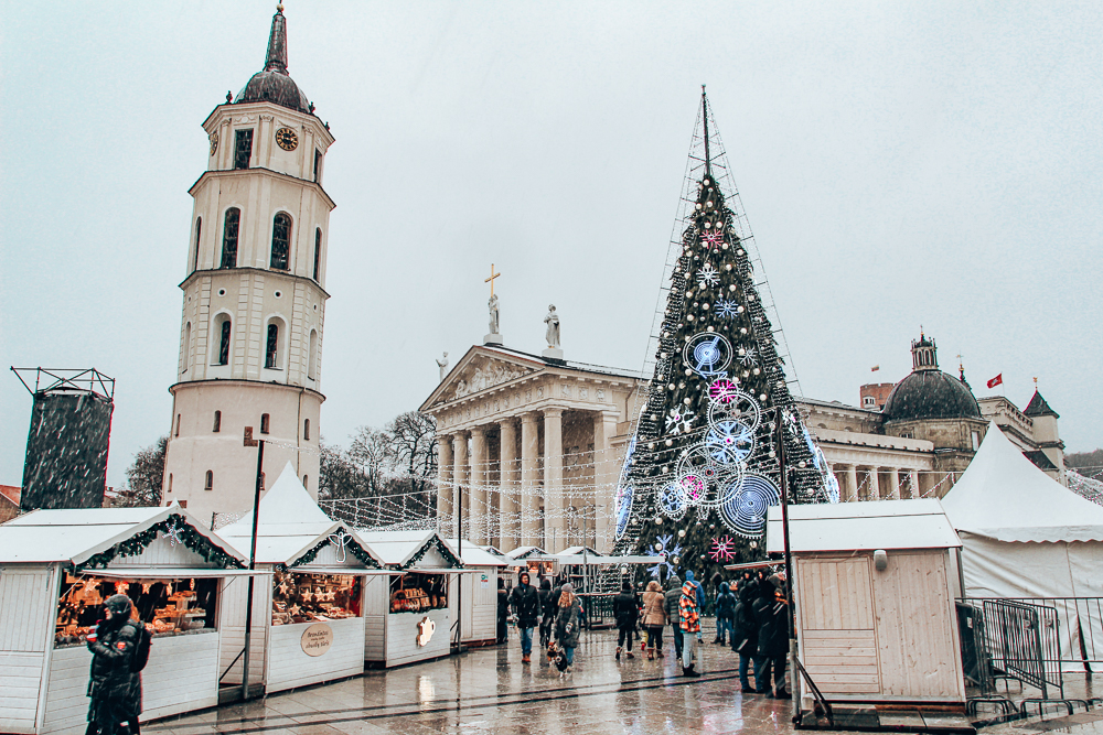 Cathedral Square during the Christmas Markets