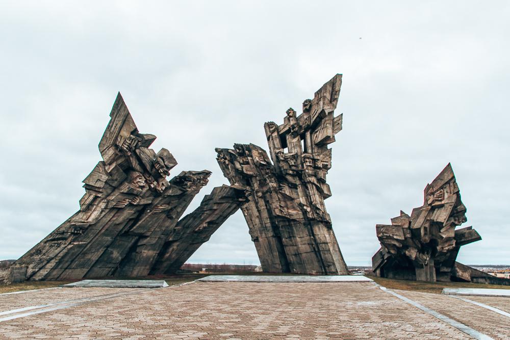 Ninth Fort Statue