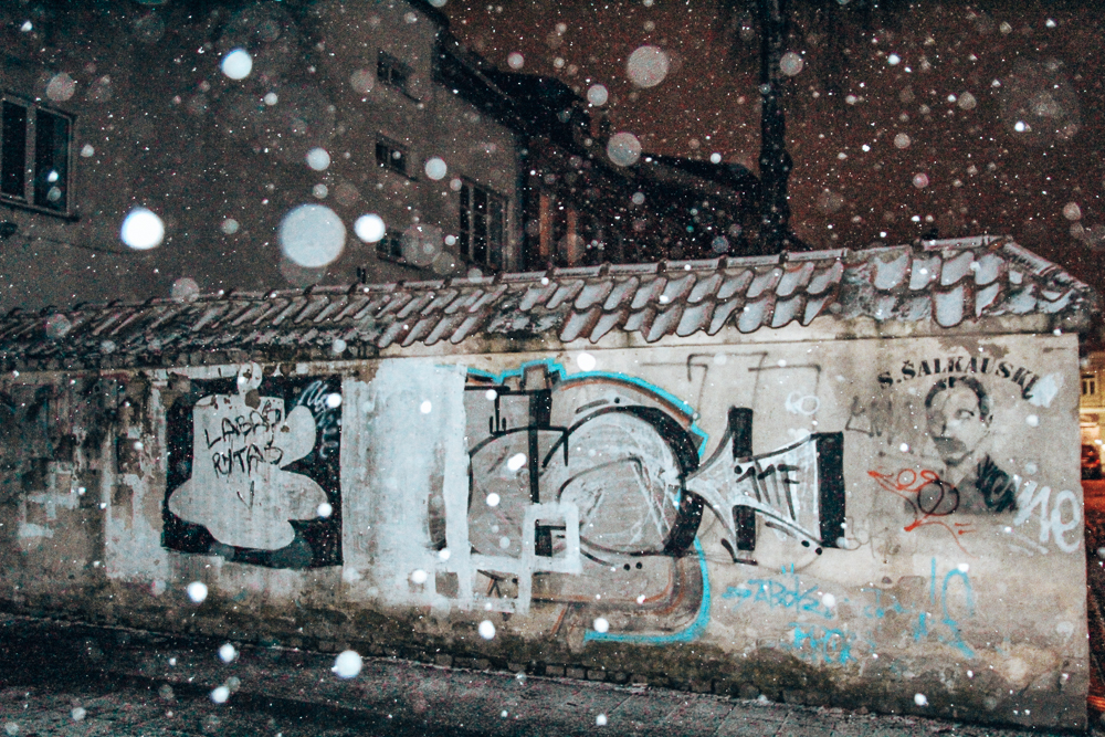Street art in Kaunus