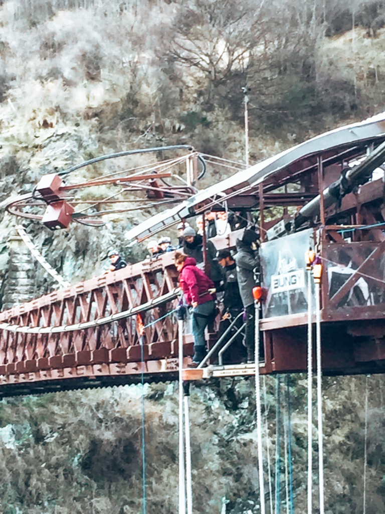 The Kawarau Bridge Bungy