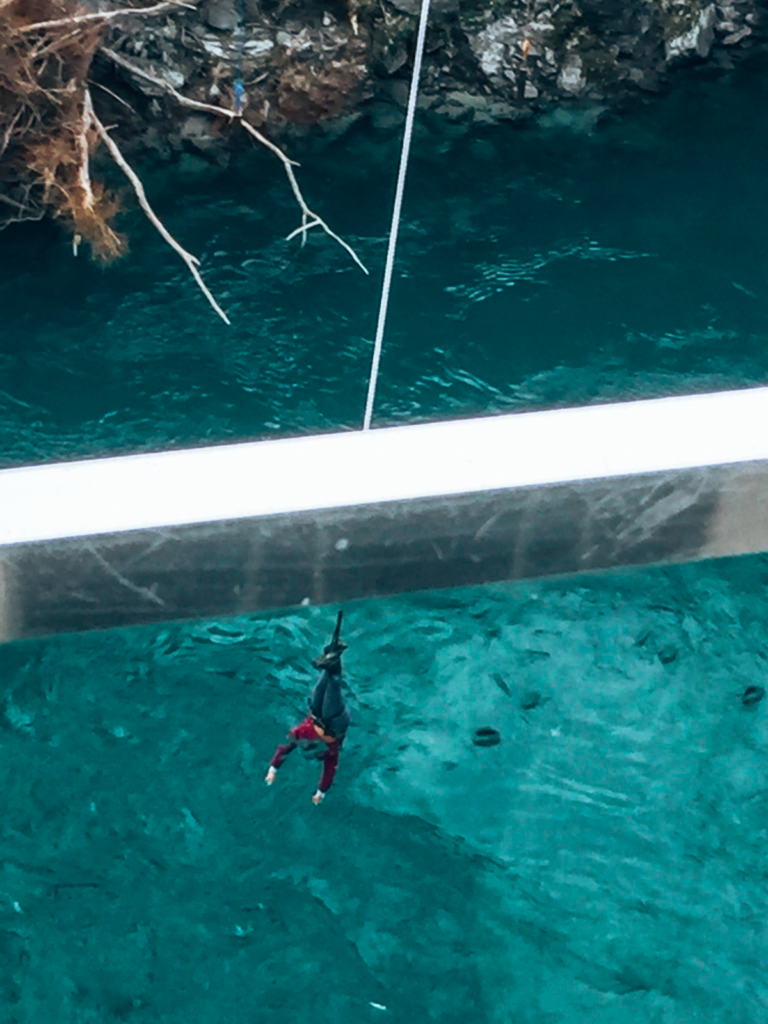 The Kawarau Bridge Bungy