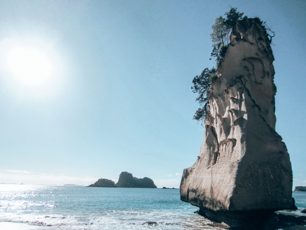 Catherdral Cove, NZ