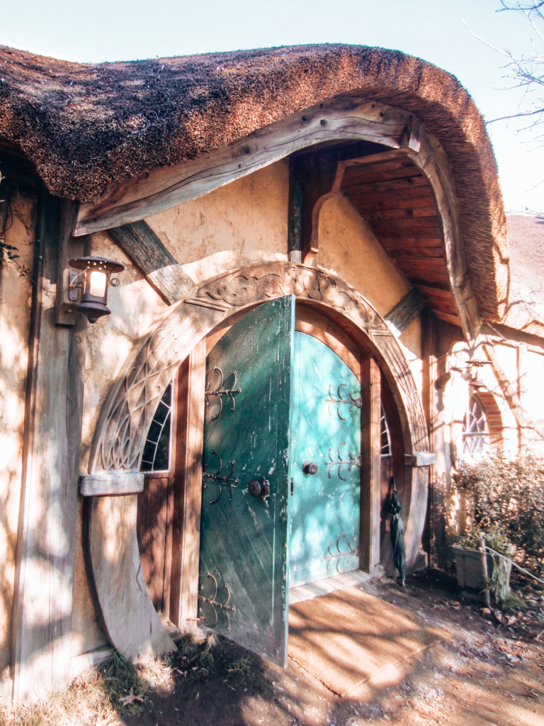 Door in Hobbiton, NZ