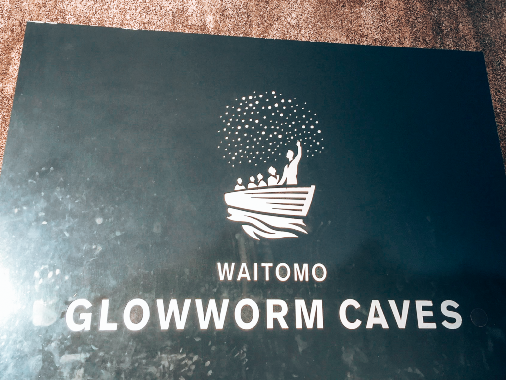 Glow worm caves plaque