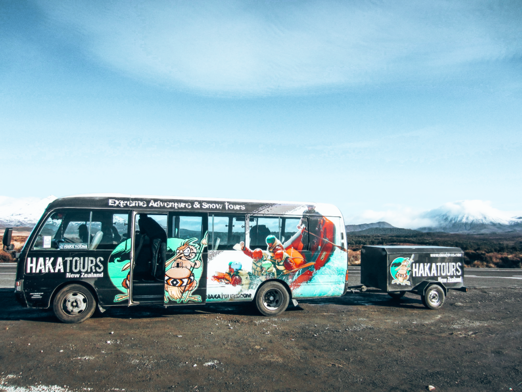 Haka Tour bus