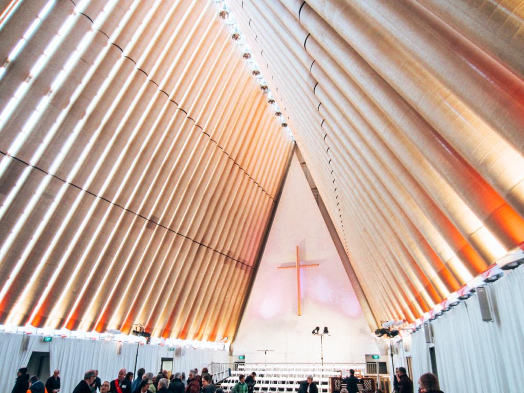 Cardboard Church, NZ