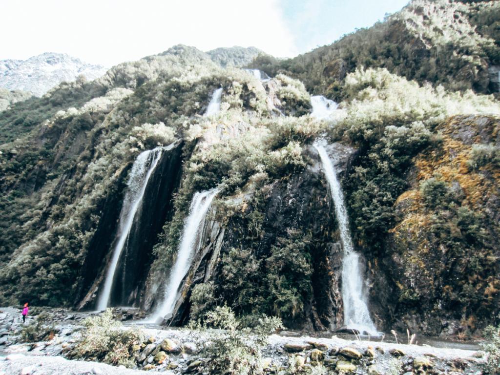 waterfalls in NZ
