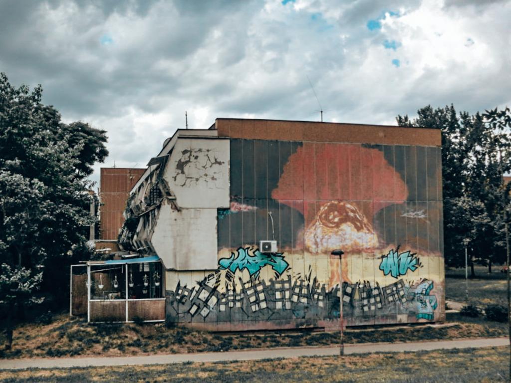 street art in Belgrade