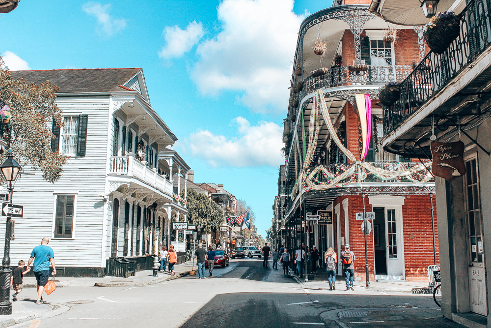 Buildings in the French Quarter