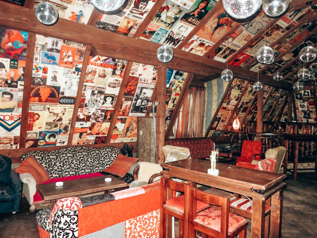 coffee shop in Belgrade