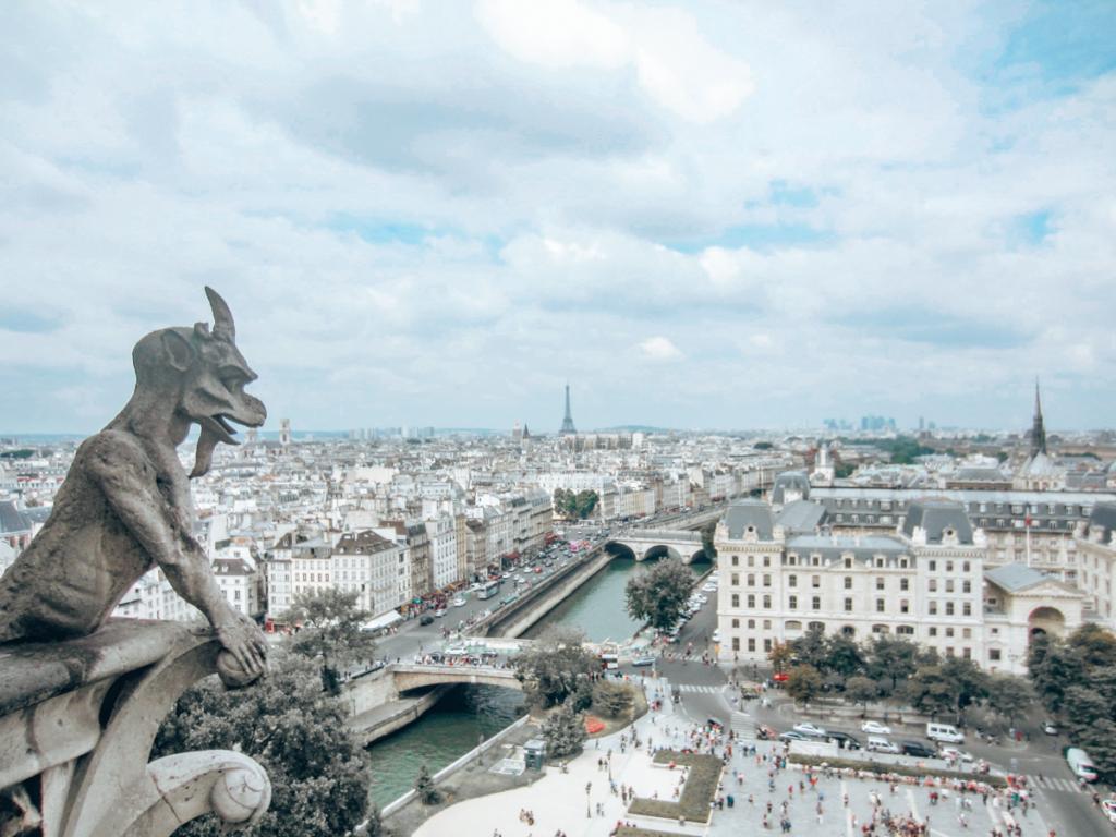 Notre Dame gargoyls