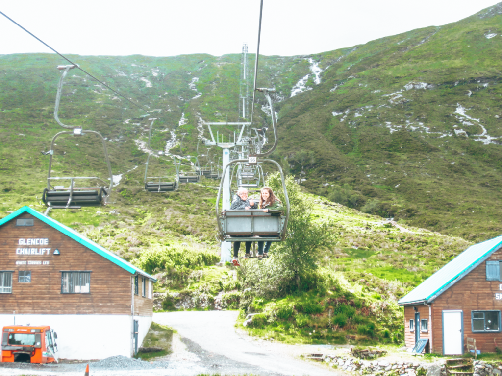Glencoe Mountain Chairlift Rides