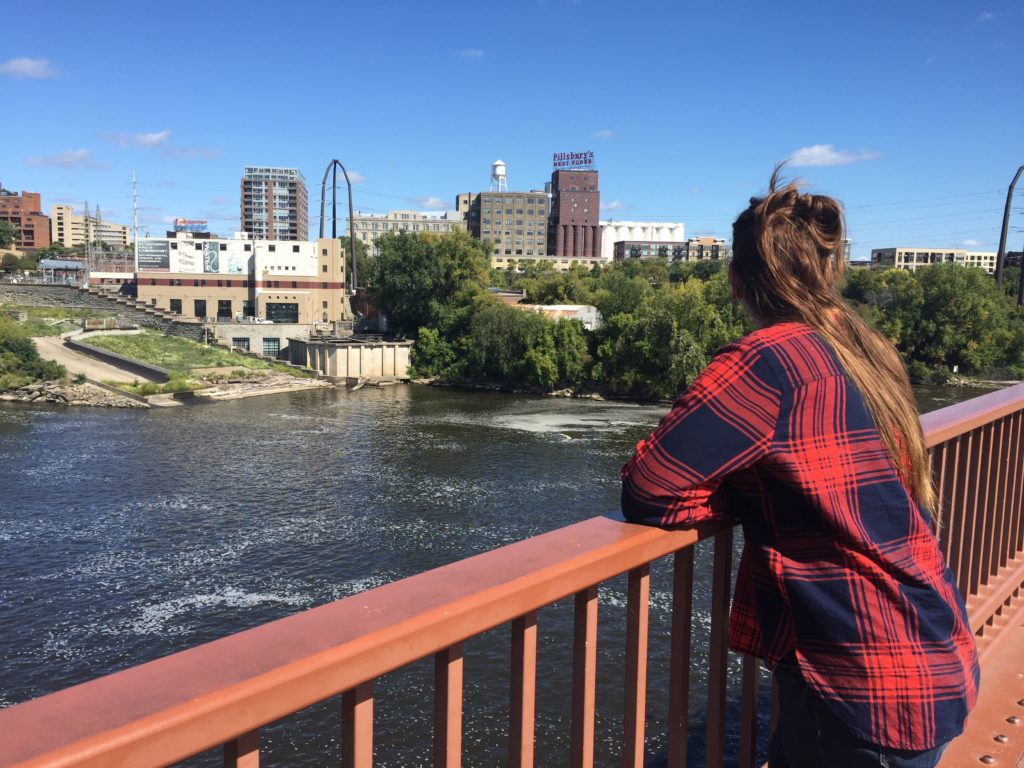 GIRL IN MINNEAPOLIS, MINNESOTA