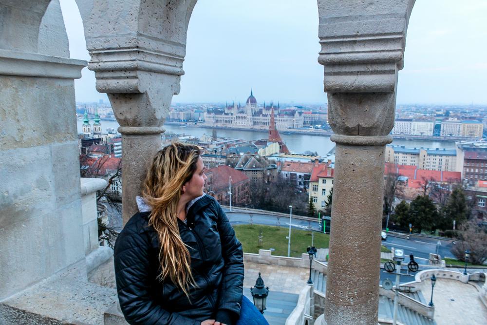girl in budapest Hungary